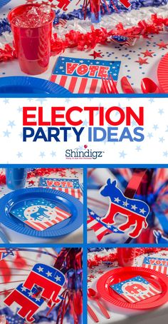 Get ready for a winning campaign with political rally decorations & election party ideas!