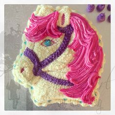Pink Horse Head