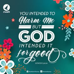 You intended to harm me, but God intended it for good Genesis 50:20 #dailybreath #ruah #ruahchurch #ruahministries #bibleverse #promiseoftheday #blessingword #verseoftheday #dailyword #sprinkleofjesus #bibleblog