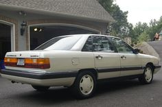 1986 Audi 5000 CS Turbo Quattro My first real car. Thank You Pop He LOVED this car.