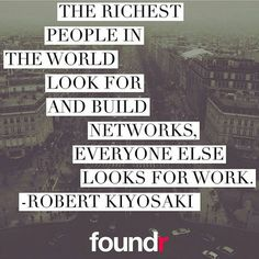 Your network is everything! Treat it like gold!  Double tap if you agree! by foundrmagazine