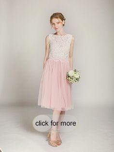 Short Blush Tulle Skirt For Bridal Weddings
