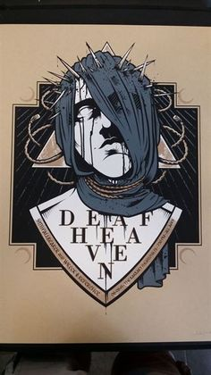 #Gigposter for #Deafheaven and #Pallbearer by Michael Wohlberg.