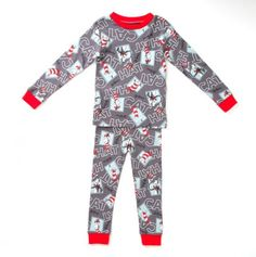 Cat in the Hat Printed Rib Knit Snug Fit PJ - Dr. Seuss Boutique: Apparel - Events