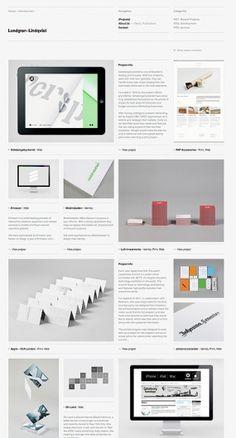 Original Linkage, gridded web design