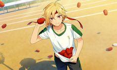あんスタ 仁兎なずな Summer Lesson, Tanabata, Image Notes, Ensemble Stars, Boy Doll, Winter Cards, Red Flowers, Original Image, Anime Guys