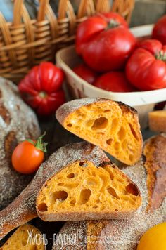 Life is delicious ! Bread Recipes, Cooking Recipes, Healthy Recipes, Hard Bread, Focaccia Recipe, Tomato Bread, Biscuit Bread, Croissant, Bread Bun