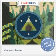 I took a journey to the wild side and earned my Camper's Badge! - playtwo.do/ts