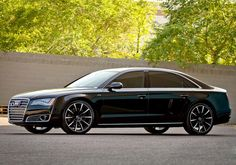 Audi A8 personal get-a-way ..  Love it