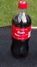 Ruth Share a Coke with Coca Cola 20oz Soda Bottle Collectible Rare NEW Name
