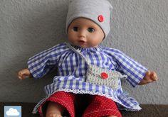 Puppenkleider - Festtagsset (ca. 30cm Puppe)