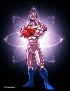 Captain Atom by Misterho on DeviantArt