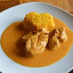 Rezept Hähnchen in Gemüserahm von wsonja24 - Rezept der Kategorie Hauptgerichte mit Fleisch