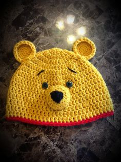 Crochet Silly Ole Bear Hat by jetaimeboutique83406 on Etsy