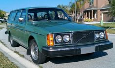 1979 Volvo 245 DL ...my first car.  Completely stock...right down to the green paint and AM/FM radio!