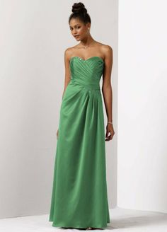 Satin A-Line Draped Gown with Beaded Neckline Clover, 2 David's Bridal http://www.amazon.com/dp/B007NG9KMS/ref=cm_sw_r_pi_dp_ZSLNtb0R549SC0J8