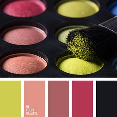 Palette with the light of wealth and brightness is diluted by gray, which emphasises individuality and shades the palette with its unusual bright accent. D.