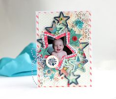 Elena Olinevich: You are my Star Card - Donna Salazar Designs