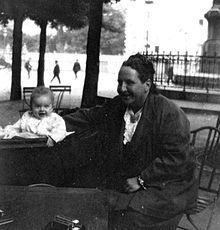 Gertrude Stein and Jack (Bumby) Hemingway - 1924 Paris Lost Generation - Wikipedia, the free encyclopedia