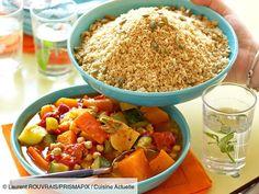 Vegetarian Couscous Recipe, Vegetarian Chili Crock Pot, Clean Eating Vegetarian, Vegetarian Meals For Kids, Easy Vegetarian Dinner, Couscous Recipes, Vegetarian Recipes Videos, Easy Healthy Recipes, Crockpot
