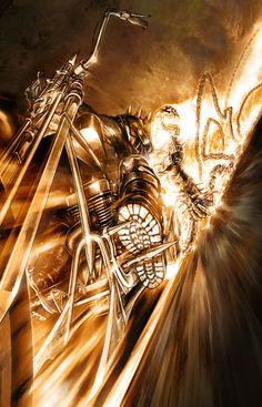 Ghost Rider by Patrick Thornton on @deviantART