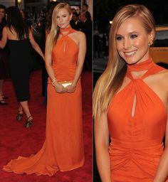 tangerine Orange Dress, One Shoulder, Formal Dresses, Fashion, Dresses For Formal, Moda, Formal Gowns, Fashion Styles, Formal Dress
