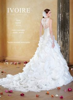 Свадебная коллекция Kitty Chen Ivoire Los Angeles 2014