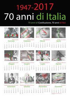 Progetto scolastico, esposto per i 70 anni della Costituzione Italiana.