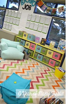 bright and playful classroom