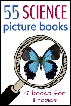 Nonfiction science picture books for kids. Great choices!