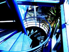 L'escalier escargot d'Aliénor.net