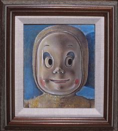 """Casper, 1999, Oil/Canvas/Panel, 7'""""x 6"""""""