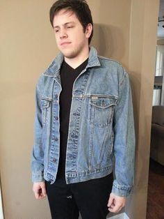 Vintage Levi Jacket - Levi Jacket - Mens Vintage Jacket - Jean Jacket - Denim Jacket - Vintage Blue Jean Jacket - Levis Jacket - Levi Straus by MyHailiesHaven on Etsy