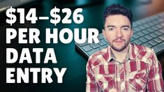 $14-$26/Hour Work-From-Home Data Entry Jobs Without Investment 2021 Work From Home Careers, Video Notes, Data Entry, Investing, Men Casual, Mens Tops, Data Feed
