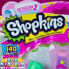 Shopkins Season 2 5 Pack! So excited to open this :) #shopkins #shopkinsseason2 #shopkinsseries2 #shopkins5pack #blindbags #kawaii #cute #toys