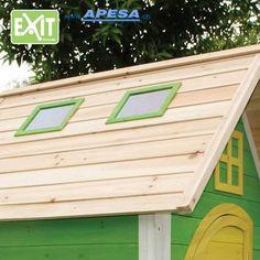 Exit Spielhaus Fantasia 100 von APESA Garage Doors, Outdoor Decor, Design, Home Decor, Fantasy, Wooden Playhouse, Role Play, Decoration Home, Room Decor