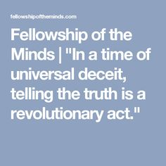 """Fellowship of the Minds 
