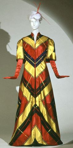 "Schiaparelli  Evening cape, ""Circus"" collection, 1939."