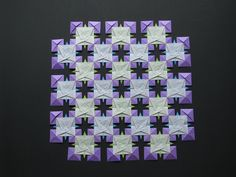 Stephen's Origami: Tomoko Fuse Origami Quilts #2