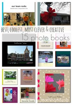 photo books for kids and family: 15 best, coolest, most clever and creative ideas for birthdays, valentines day, or any day