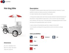 Most popular mobile machine for sellin hot dogs in Europe #gastrobike #icecreambike #gelatobike #eisfahrrad #veloglace #coffeebike #juicebike #jggastro #coffee #bike #streetfood #icecream #grillbike #hotdogbike More info on www.gastro-bike.com