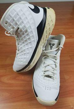 2121a0dfa28a Nike Zoom Kobe 3 III SL 2008 MVP White  Black Men s Size 10 - 318695-101