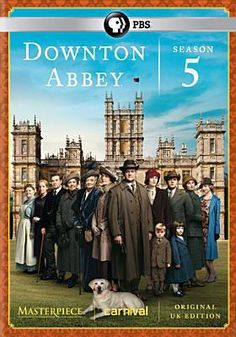 Downton Abbey Season 5 DVD. For more information visit www.houstonlibrary.org or call 832-393-1313.