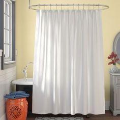 East Urban Home Shabby Flora Shower Curtain Set + Hooks Double Shower Curtain, Shower Curtain Hooks, Tree Shower Curtains, Custom Shower Curtains, Shower Liner, Shower Rod, Bathroom Sets, Bathroom Pink, Bathroom Interior