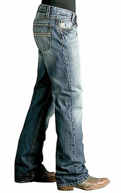 Cinch® Carter Medium Stonewash Relaxed Fit Jean - MB96134001 | Cavender's Boot City  30X32