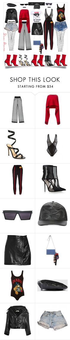 """""""Fashionista - Married To Fashion"""" by adswil ❤ liked on Polyvore featuring Salvatore Ferragamo, Gianvito Rossi, Maison Close, Au Jour Le Jour, Giannico, RetroSuperFuture, Gucci, A.L.C., Miu Miu and MadeWorn"""