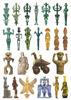 24 Goddess Sculptures from the Iron Age (plate 2)