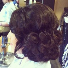 Prom up-do! Love this.