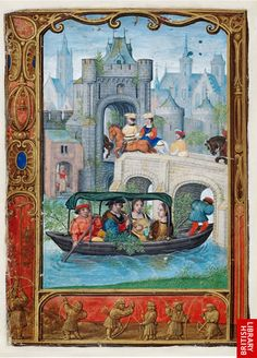May, The Golf Book of Hours, Illuminated by Simon Bening (Bruges), ca. 1540