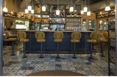 Greenwich Kitchen restaurant by B3 Designers, Greenwich   UK restaurant cafe